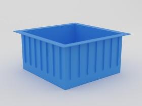прямоугольный пластиковый бассейн цена