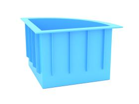 угловой пластиковый бассейн цена